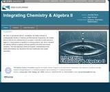 Integrating Chemistry & Algebra II