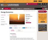 Energy Economics, Spring 2007