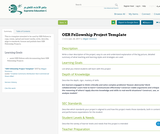 OER Fellowship Project Template