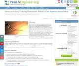 Tracing Fluorescent Plastics in an Aquatic Environment