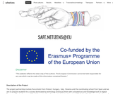 safe.netizens@eu project's website