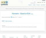 Humans - Good or Evil