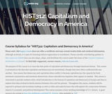 Capitalism and Democracy in America