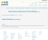Geometry Deductive Proof Relay