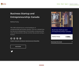 Business Startup and Entrepreneurship: Canada