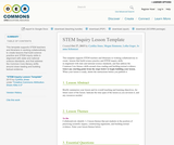 STEM Inquiry Lesson Template