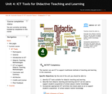 ICT Tools for Didactive Teaching and Learning