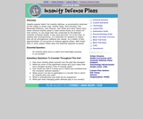 Insanity Defense Pleas (Psychology)