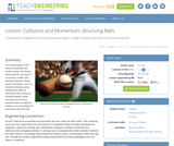 Collisions and Momentum: Bouncing Balls