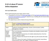 9-12 Is it abuse if? Lesson (Online Adaptation)
