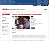 Problem Solving for Immunization Programs