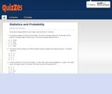 Statistics and Probability - Quiz