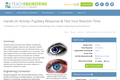 Pupillary Response & Test Your Reaction Time