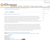Southern African Review of Education