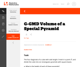 G-GMD Volume of a Special Pyramid