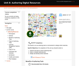 Authoring Digital Resources