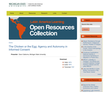 The Chicken or the Egg: Agency and Autonomy in Informed Consent
