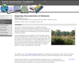 Earth Exploration Toolbook Chapter: Analyzing Wetlands