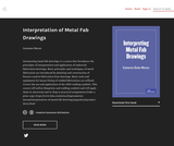Interpretation of Metal Fab Drawings