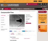 Compressible Flow, Spring 2003