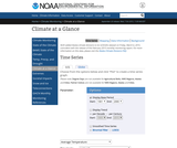 National Oceanic and Atmospheric Association Homepage: U.S. Climate at a Glance