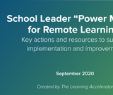 Remote Learning: District Planning for Improvement