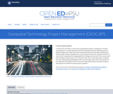 Geospatial Technology Project Management
