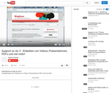Support on Air 2 - Einbetten von Videos, Präsentationen, PDFs und viel mehr!