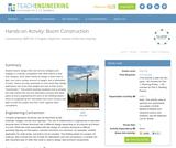 Boom Construction