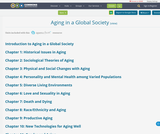 Aging in a Global Society