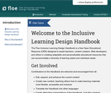Inclusive Learning Design Handbook