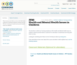 FSW: Health and Mental Health Issues in Children
