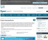 Care Transactions