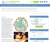 Using Graph Theory to Analyze Drama