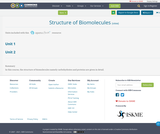 Structure of Biomolecules