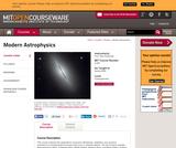 Modern Astrophysics, Spring 2006