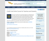 Credit Cred Online Course for Teachers and Students