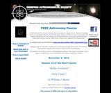 Memphis Astronomical Society