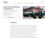 CFR Backgrounder: North Korea's Nuclear Capabilities