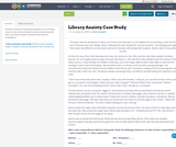 Library Anxiety Case Study