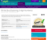 Fill the Bus (Exploring 2-digit Numbers)
