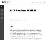 Random Walk II