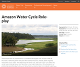 Amazon Water Cycle Roleplay
