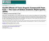 Health Effects of Toxic Organic Compounds from Coal