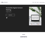 Accessible Digital Content Training