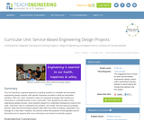 Service-Based Engineering Design Projects
