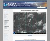 GOES East Hurricane SECTOR IR Image