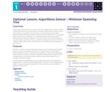 CS Principles 2019-2020 1.11.17: Algorithms Detour - Minimum Spanning Tree
