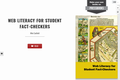 Web Literacy for Student Fact Checkers