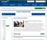 Grade 4 Module 5: Fraction Equivalence, Ordering, and Operations